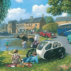 Happy Days Cotswold 1000pcs Jigsaw 15824