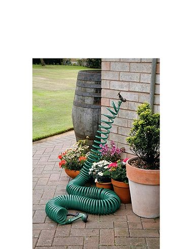 Self-Coiling Hose