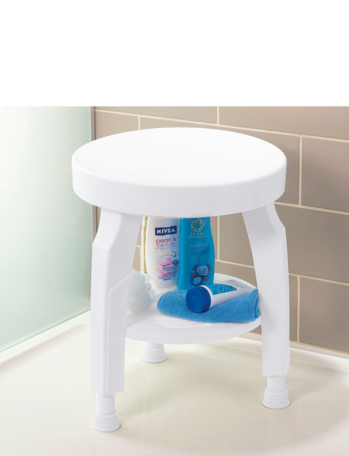 Swivel Top Shower Stool | Chums