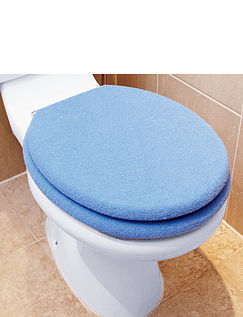 Fleece Toilet Seat And Lid Cover Set