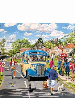 The Counrty Bus Gibsons Jigsaw Boxset