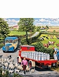 Gibsons Boxed Set Of 4 x 500PC Puzzels- The Country Bus