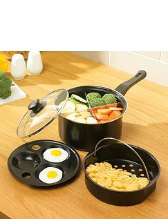 8 Inch Four- Way 3- In- 1 Pan
