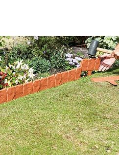 Terracotta Stone Effect Edging