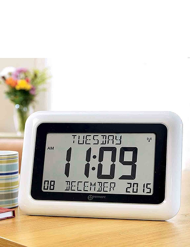Radio Controlled Day/Date Clock