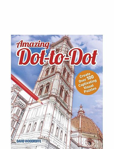 Set Of 2 Dot-To-Dot Books