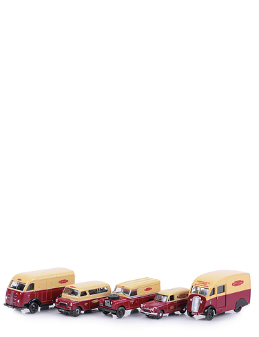 Set of 5 British Rail Vehicles