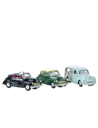 Set of 3 Morris Minors