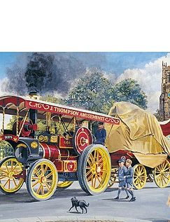 Summer Steam Set Of 4 x 500Pc Jigsaw Puzzle