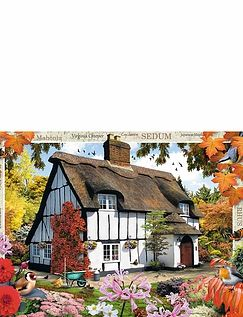 Sedum Cottage Jigsaw Puzzle