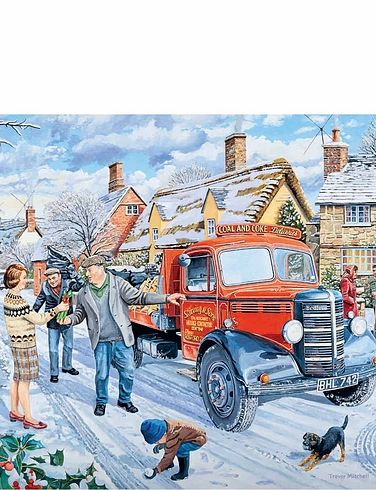 The Coalman 500Pc Jigsaw Puzzle