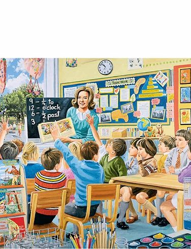 The Teacher 500Pc Jigsaw Puzzle