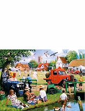 Village Green 4x1000pc