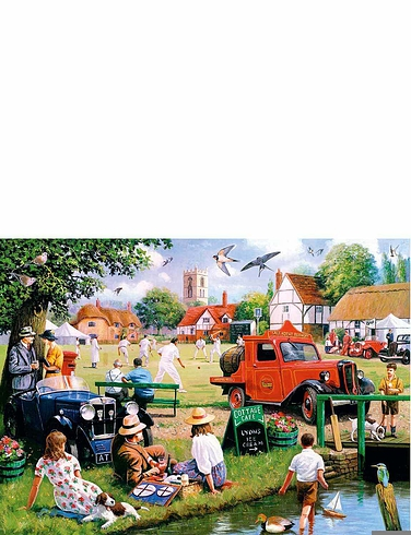 Village Green Boxed Set Jigsaw