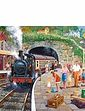 Gibsons Seaside Train 636Pc Jigsaw Puzzle
