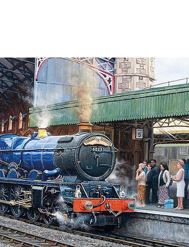 Arrival At Temple Meads 636Pc Jigsaw Puzzle