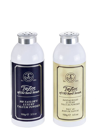 Taylors Of Old Bond Street Talcum Powder