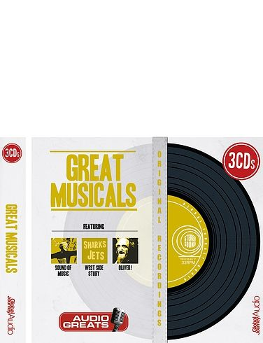 Classic Great Musicals - 3 CD's