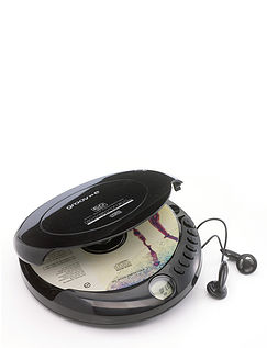 Retro Personal CD Player