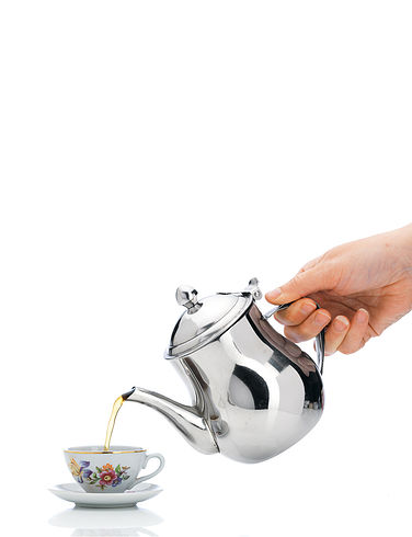 Stainless Steel 3 Cup Teapot