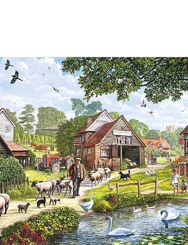 Hop Country 1000Pc Jigsaw Puzzle