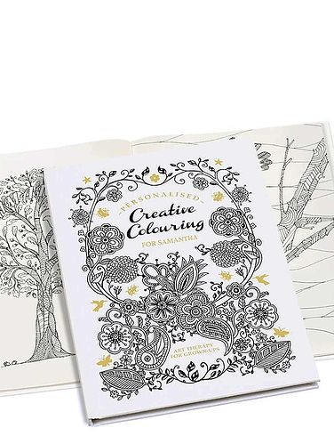 Creative A4 Colouring Book