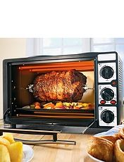 26 Litre Mini Oven With Rotisserie