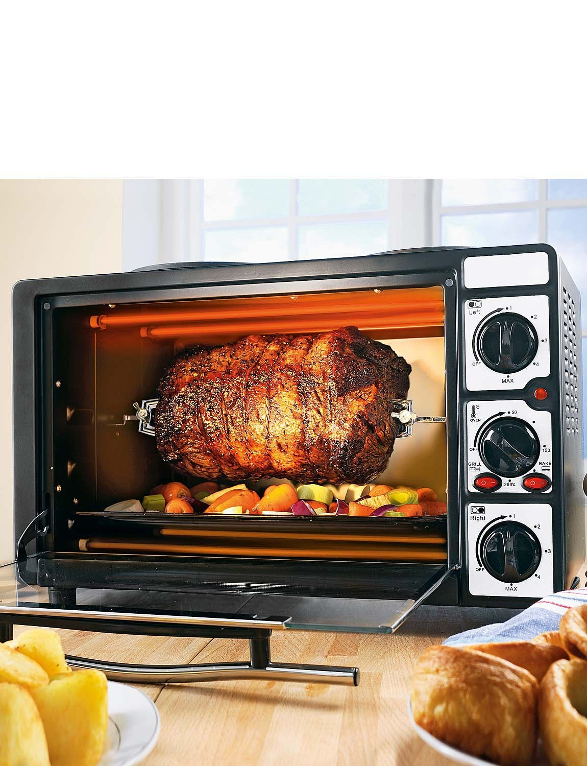 Litre Mini Oven With Rotisserie Chums