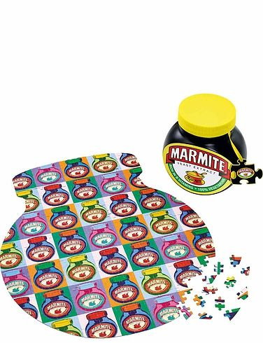 Vintage Marmite 500Pc Jigsaw In A Tin