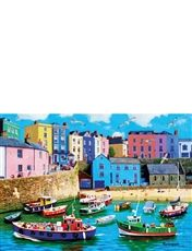 1000pc Jigsaw Puzzle Happy Days Tenby