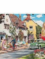 2 x 500pc Jigsaw Puzzles The Postmans Round