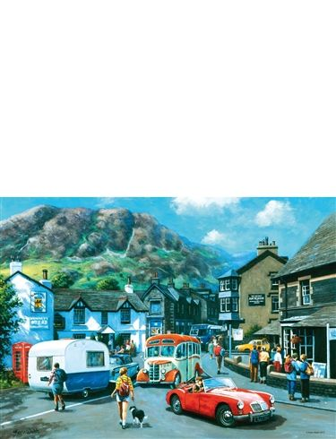 1000pc Jigsaw Puzzle Happy Days Lake District