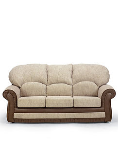 Charlston Three Seater Settee And Chair