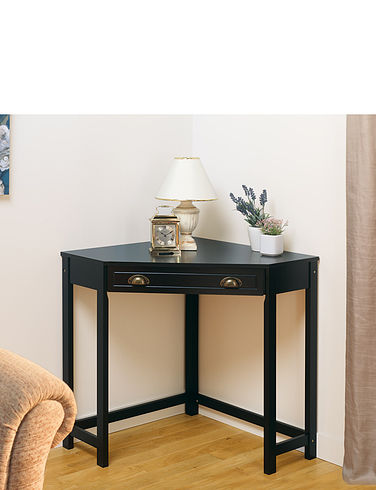 Corner Table/Desk Unit With Drawer