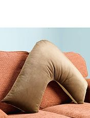 Hollowfibre Velour V-Pillow