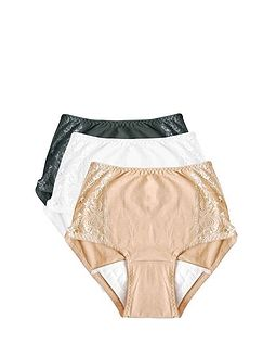Ladies Comfort Dry Briefs