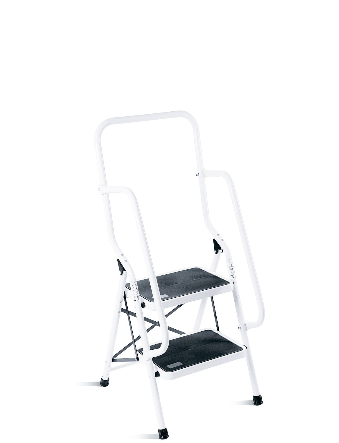 Two Step Ladder With Safety Rail Chums