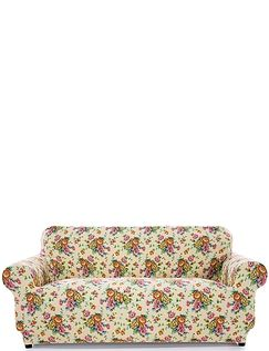 Corby 2 Way Stretch 2 Seater Settee Plus 1 Chair Furniture Cover