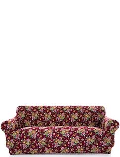 Corby 2 Way Stretch 3 Seater Settee Plus 1 Chair Furniture Cover