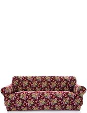 Corby 2 Way Stretch 3 Seater Settee Plus 2 Chair Furniture Cover