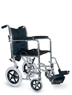 Lightweight Steel Transit Wheelchair
