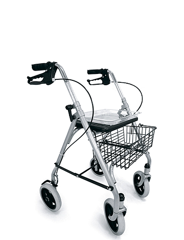 Lightweight Steel Rollator