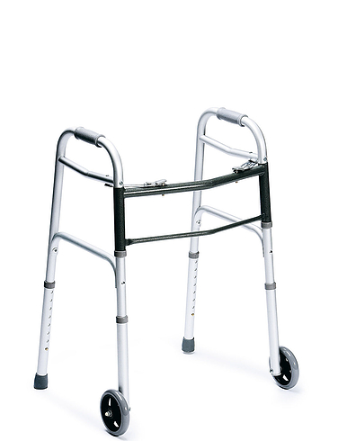 Folding Wheeled Walking Frame