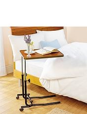 Over Chair / Bed Standard Table With Castors