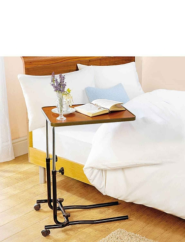 Over Chair/Bed Table With Castors