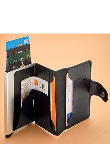 RFID Real Leather Wallet