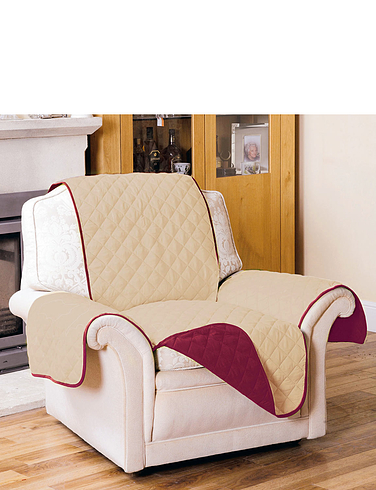 Quilted Reversable Chair Protector