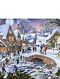Summer Days and Snowflakes Set of 2 Jigsaws