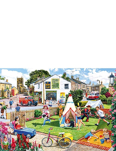 Wigwams & Woolly Hats - 2 x 500 Jigsaw Puzzles