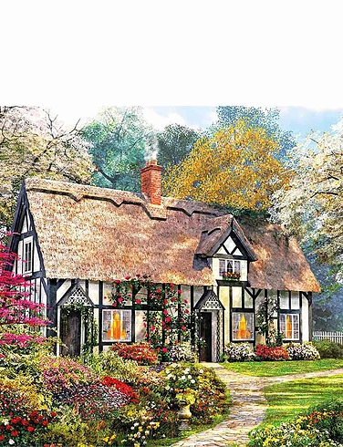 Woodland Cottages Set of 2 Jigsaws